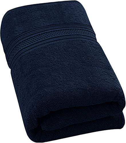 (Utopia Towels 700 GSM Extra Large Bath Towel (35 x 70 Inches) - Luxury Bath Sheet - Navy )