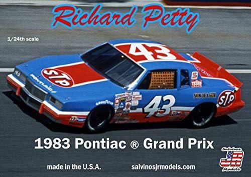 サルビノス J・R モデル 1/24 NASCAR 1983優勝車 ポンティアック グランプリ リチャード・ペティ プラモデル