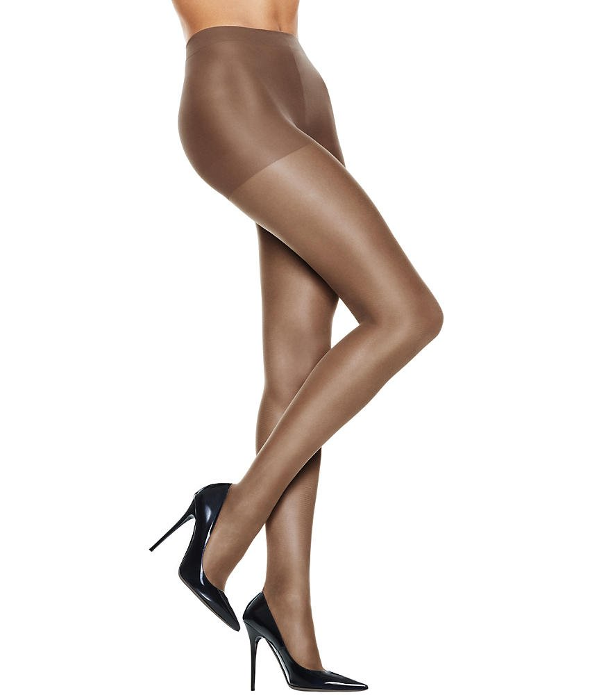 816e72163 Galleon - Hanes Plus Silk Reflections Sheer Non-Control Enhanced Toe  Pantyhose Hosiery Pack Of 1