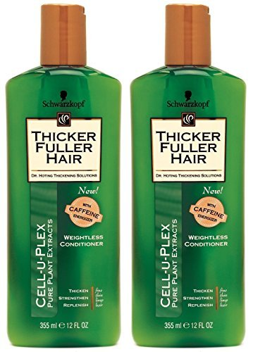 Thicker Fuller Hair Weightless Conditioner, 12 Oz (Pack of 2)