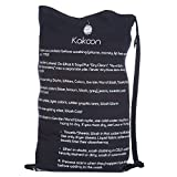 Kakoon Extra-Large Drawstring Laundry Bag with Shoulder Strap, 24-Inch-by-36-Inch