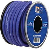 DB LINK SXPW0BL50 Strandworx(TM) Soft-Touch Power & Ground Wire (0 Gauge, 50ft, Blue Power) electronic consumer