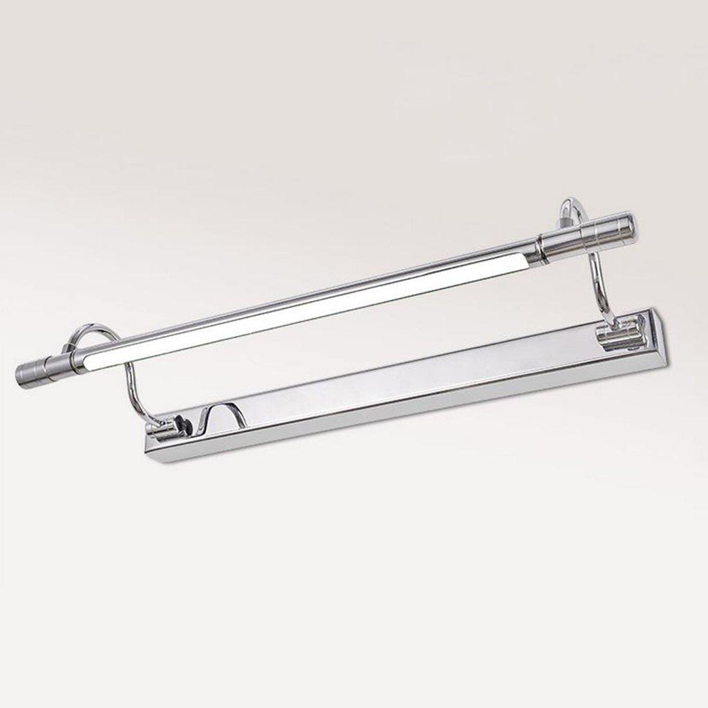 badezimmerlampe LED Spiegel Front Ligh, Badezimmer Make-up Leuchten Badezimmer Spiegel Lampe Spiegel Kabinett Lichter Schminklicht (Farbe   weißes Licht-10W 65cm)