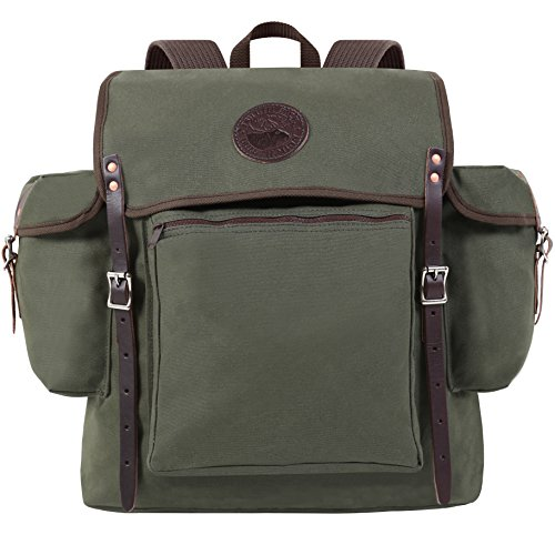 Duluth Pack Rambler Pack, Olive Drab, 19 x 17 x (Green Rambler Backpack)