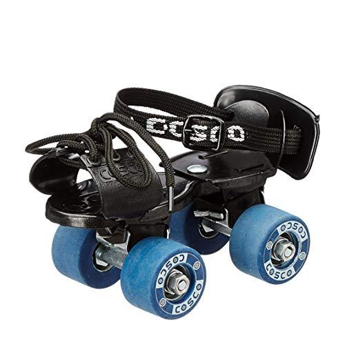 Cosco Tenacity Super Jr. (16.5-19.5 cm) Age Group (3-6 Years) Quad Roller Skates – Size 8-11 UK (Blue)