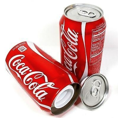 Coca Cola Coke 12Oz Can Safe Hidden Storage Secsafesret Diversion Stash Soda Cans