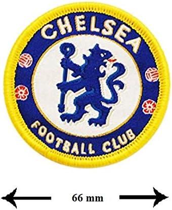 Soccer UK Patch Chelsea London Aufb/ügler Aufn/äher Chelsea Football Club Fu/ßball Patch B/ügelbild hot iron Soccer Football