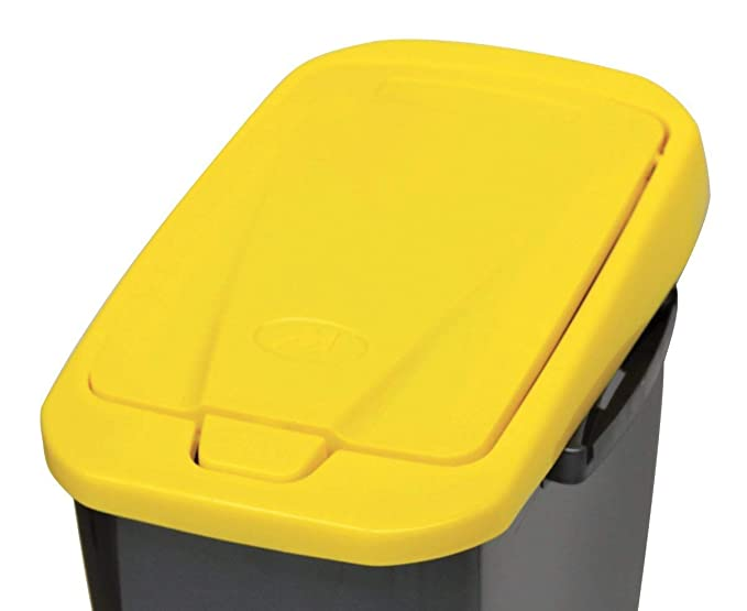 Mondex Pls8086 19 Pattumiera Per Raccolta Differenziata 25 L Giallo