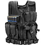 Marmot Tactical Vest Durable Mesh Vest with Detachable Belt & Holster for Subcompact/Compact/Standard