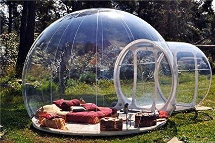 Amazon.com: Tienda de campaña hinchable de burbujas para 3 y ...