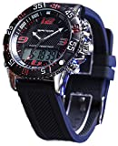 Boys Quartz Electronic Wrist Sport Watch Back Light Casual Business Sports Watches Black