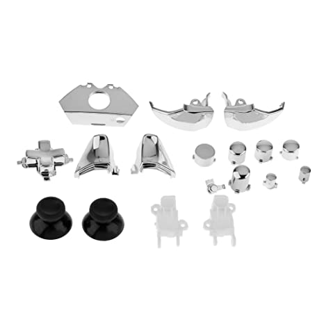 Magideal Set of 18 Replacement Controller Buttons Kit for