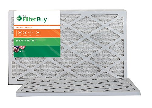 12x24x1 Pleated Furnace Filters produced