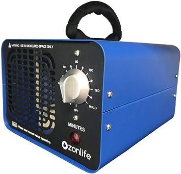Ozonlife Generador de ozono comercial 10.000 mg/h Purificador de ...