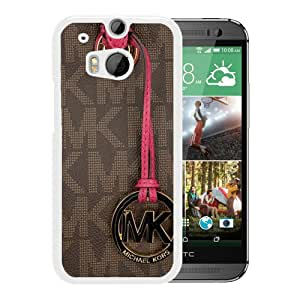 Newest M-K HTC ONE M8 Screen Case ,Unique M-K 154 White HTC ONE M8 Cover Case Fashion And Durable Designed Phone Case