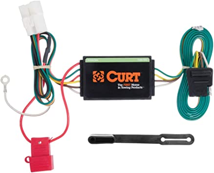 curt 56040 vehicle side custom 4 pin trailer wiring harness for select subaru forester, outback, sport, xv crosstrek  trailer wiring harness installation