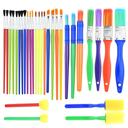 Kids Paint Brush Set