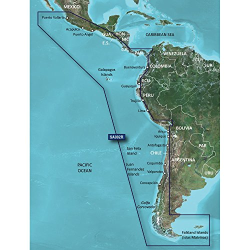 GARMIN 010-C1063-20 / Garmin BlueChart G2 HXSA002R South America West Coast MicroSD/SD