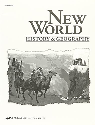New World History and Geography 6th grade curriculum for sale  Delivered anywhere in USA