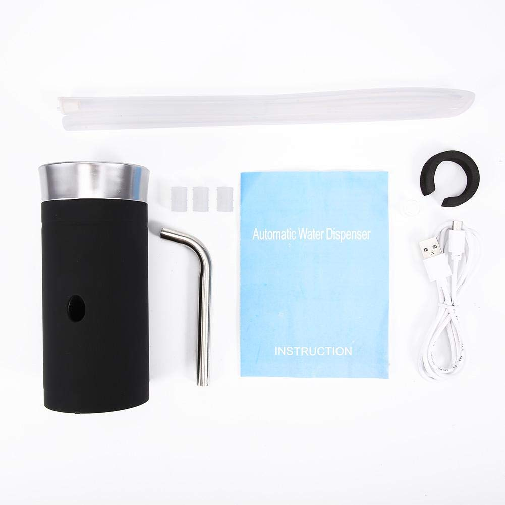 Electric Bottle Water Pump Dispenser, Home Outdoor Electric Dispenser Portable USB Rechargeable Bottled Drinking Dual Water Pump