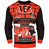 Cincinnati Bengals Ugly 3D Sweater - Mens Double Extra Large