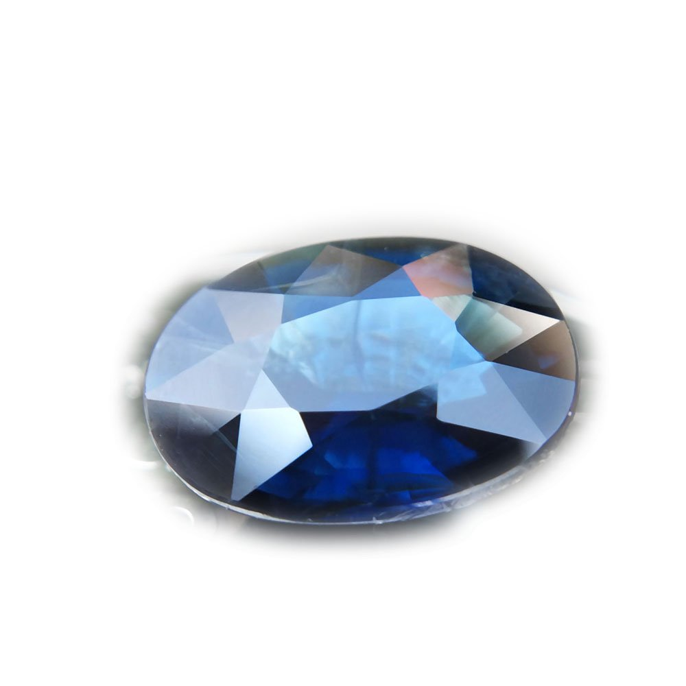CertiFied SLP 2.11ct Natural Oval Unheated Blue Sapphire Thailand #B