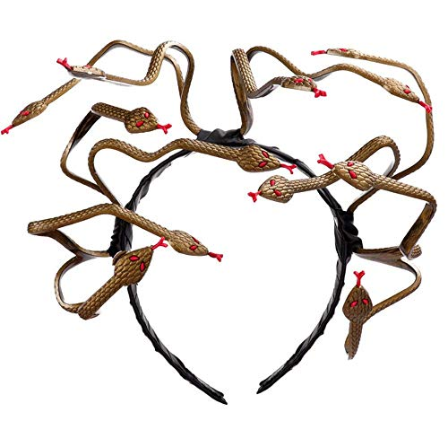 Pavian Forum Novelties Medusa Snake Costume Headpiece Halloween -