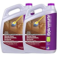 Rejuvenate Professional Wood Floor Restorer High Gloss Non Toxic Easy Mop On Application 1 Gallon (2 Pack)