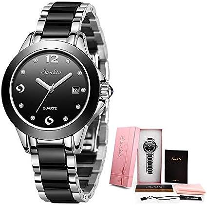 SHOUB Nuevo Reloj de Oro Rosa de Las Mujeres Relojes de Cuarzo Señoras Top Marca Mujer Reloj de Pulsera Reloj Mujer Regalo Zegarek Dami