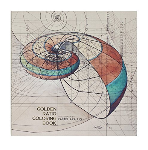 Golden Ratio Coloring Book by Artist Rafael Araujo