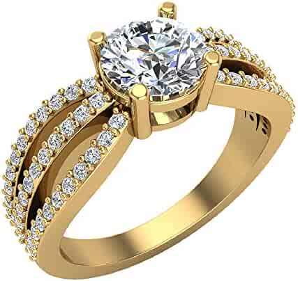 b05cec21b145a Shopping 1.25ct - 1.49ct - Round - Clear - Jewelry - Women ...