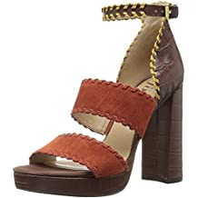 The Fix Women's Garza Whipstitch Platform Dress Sandal