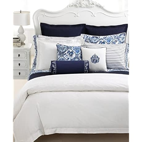 Lauren Ralph Lauren Palm Harbor Quilt Queen White Quilted