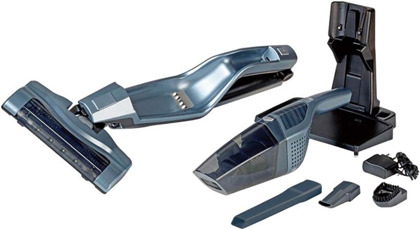 Quigg sin bolsa Aspiradora & batería de 2 en 1 – Aspiradora de mano + LED: Amazon.es: Hogar