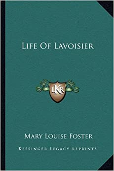 Book Life of Lavoisier