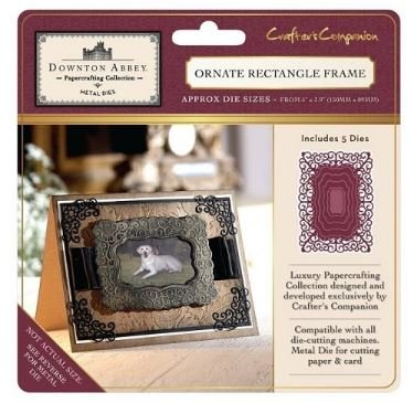 Crafters Companion Downton Abbey - Ornate Rectangle Frame Dies