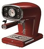 Espressione-DeLonghi of Italy New Café Retro Espresso Machine, Red