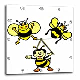 3dRose dpp_57748_1 Bumble Bee Party Wall Clock, 10 by 10-Inch Review