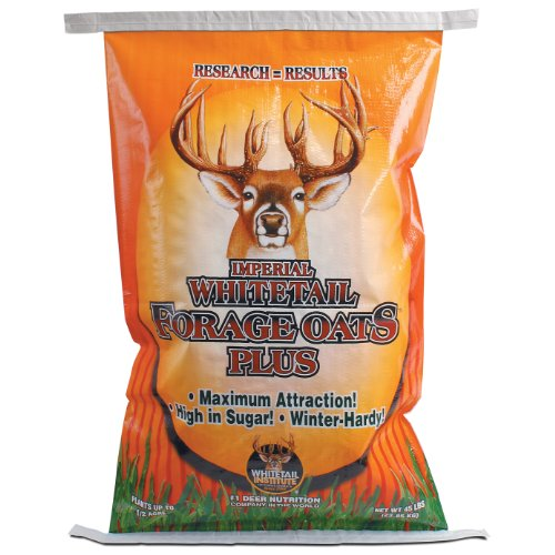 Whitetail Institute Imperial Oats Plus Food Plot Seed, 45 lb Whitetail Institute Clover