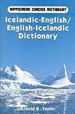Icelandic-English/English-Icelandic Concise Dictionary (Hippocrene Concise Dictionary)
