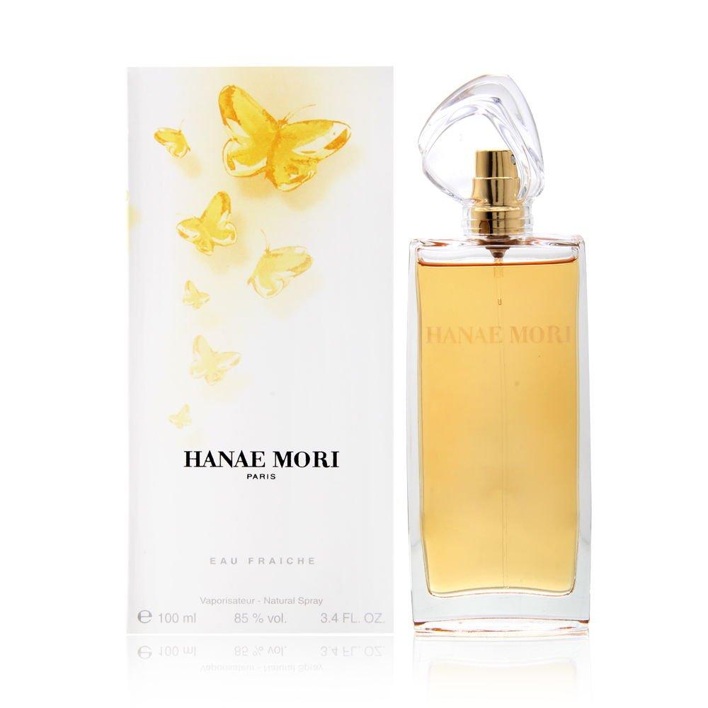 Hanae Mori by Hanae Mori for Women 3.4 oz Eau Fraiche Spray (Yellow Butterfly)