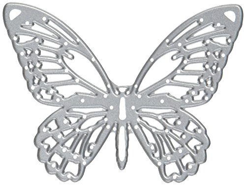 Sizzix 661182 Detailed Butterflies Thinlits Die Set by Tim Holtz (4/Pack) ()