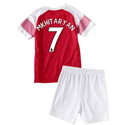 67fd3abc47872 Amazon.com : UKSoccershop 2018-2019 Arsenal Home Little Boys Mini ...