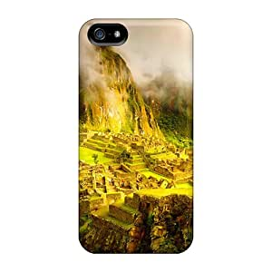 Excellent Iphone 5/5s Cases Tpu Covers Back Skin Protector Matchu Pitchu