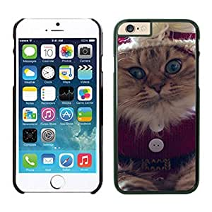 Individualization Christmas Naughty Cat Iphone 6 Cover Case For Iphone 6 4.7 Inch by lolosakes