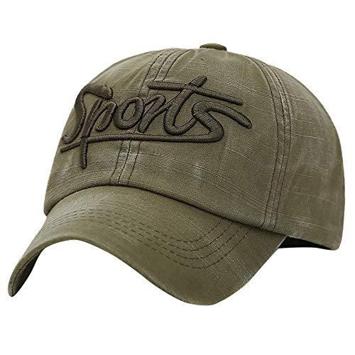 LEXUPA Baseball Cap Fashion Hats for Men Casquette Polo for Choice Utdoor Golf Sun Hat(One -
