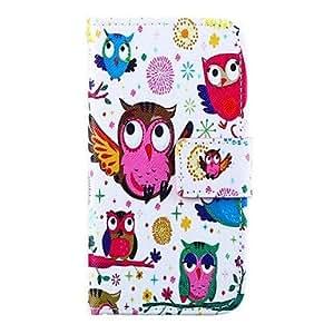 LCJ Bird Pattern PU Leather Case for Samsung Galaxy S4 MINI I9190