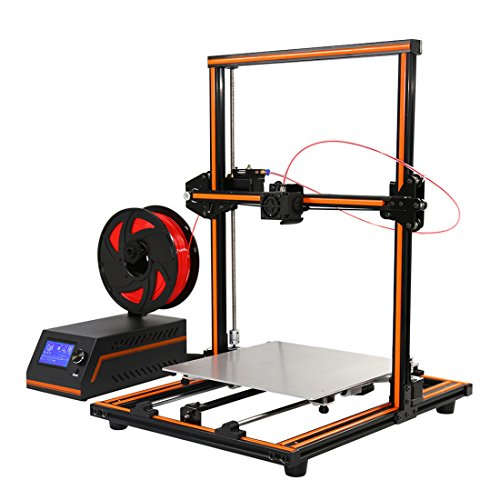 "3D Printer Anet E12 11.8"" X11.8"" X15.8"" New Version with Dual Z Axis Leading Screws DIY High Accuracy CNC Self Assembly Multi-language"
