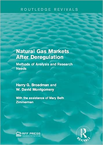 Natural Gas Markets After Deregulation: Methods of Analysis and Research Needs (Routledge Revivals)