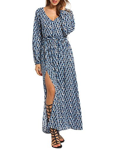 Buy chevron wrap dress - 2